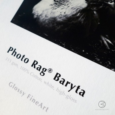 CARTA HAHNEMÜHLE PHOTO RAG BARYTA 315